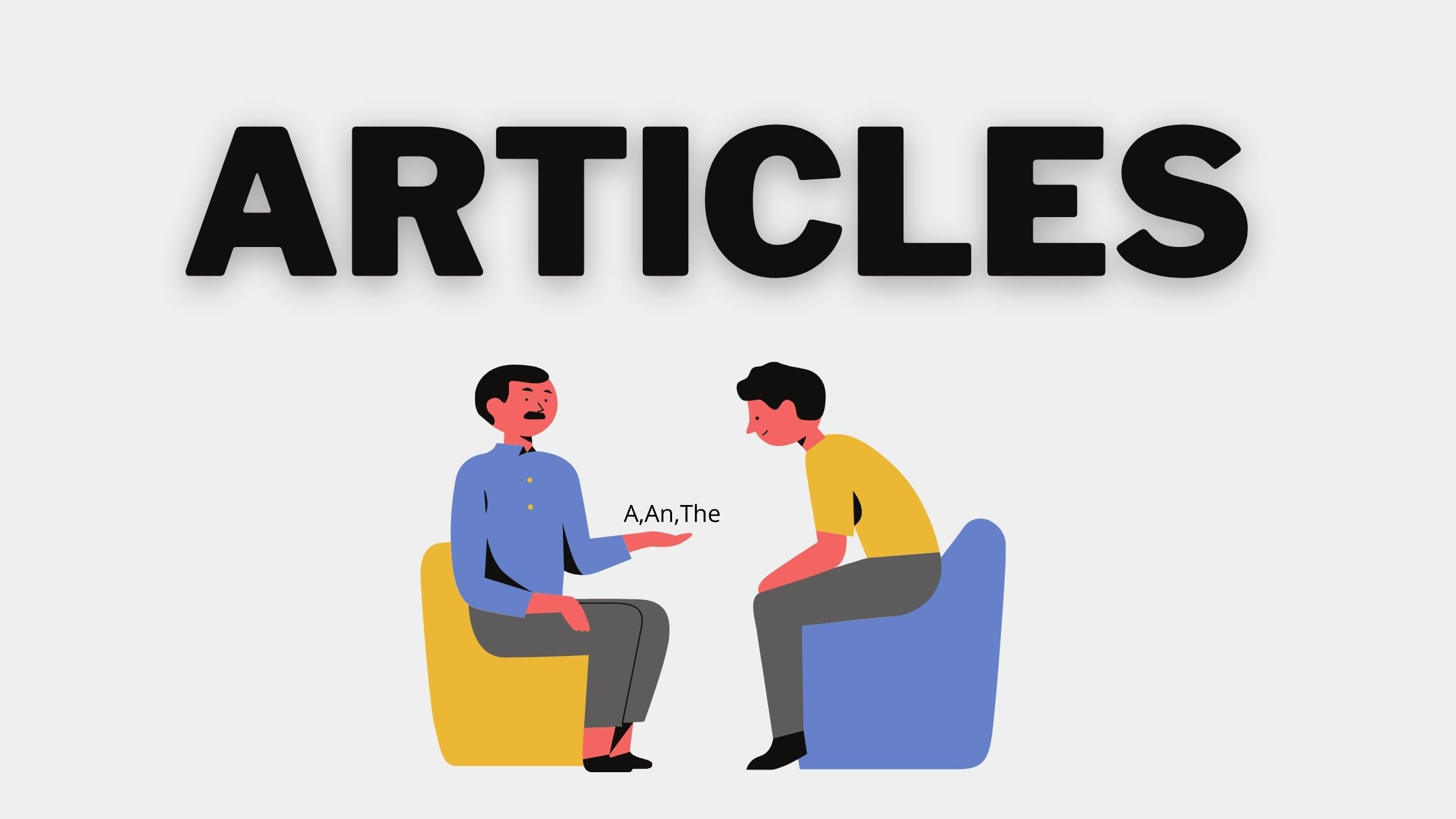 usage of articles
