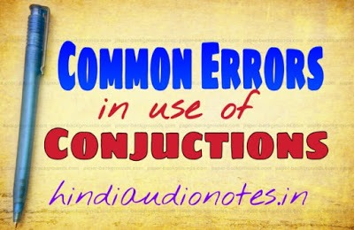 Conjunctions Rules in Hindi