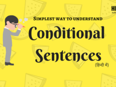 Conditional Sentence | Simplest Way to Understand in Hindi