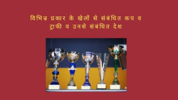 Cups and Trophies Related to Sports,Major Cups & Trophies of Different Games, sports cups and trophies, cricketcups and trophies